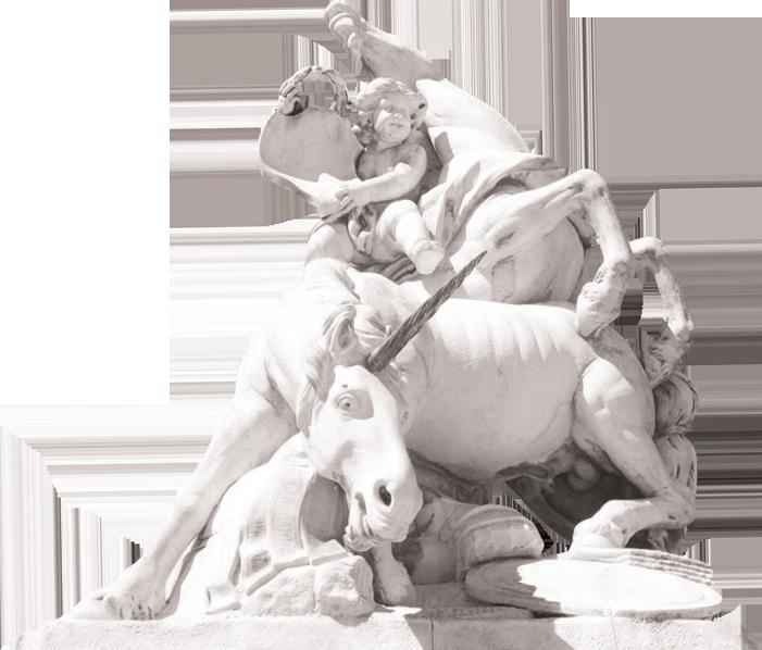 statue place de la canourgue montpellier