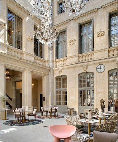 Cour Patio Hotel De Luxe Montpellier